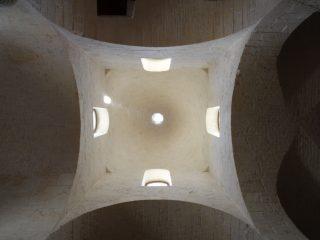 Il camino solare e la cupola