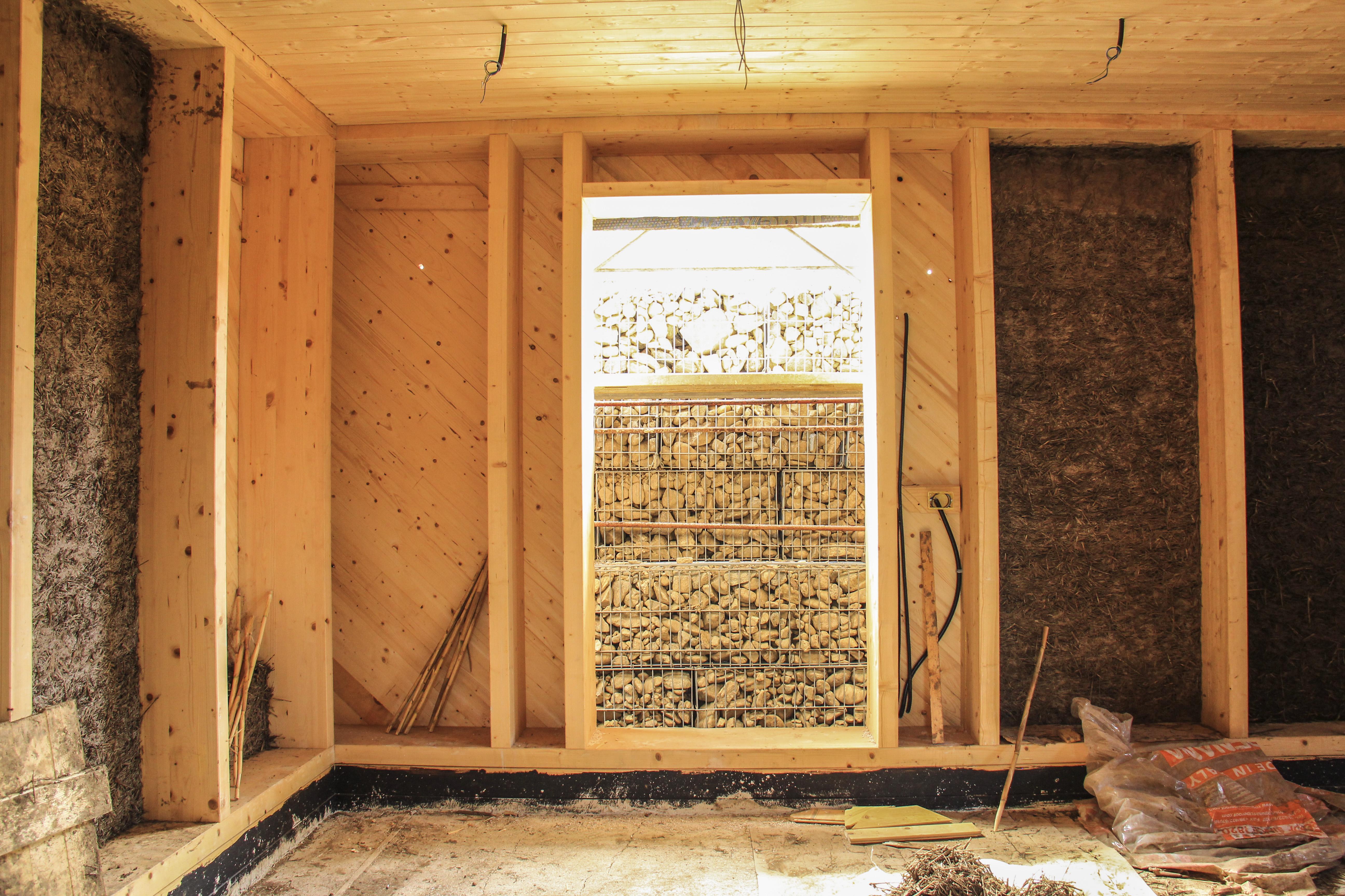 La casa di canapa - Struttura piano terra