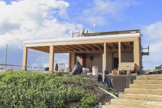 A Ragusa, la casa di paglia che non brucia